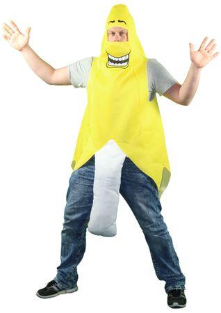 geschälte Banane Kostüm für Herren