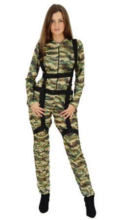 Fallschirmjägerin Kostüm für Damen