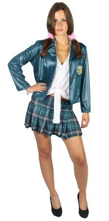 sexy Schulmädchen Damen Kostüm