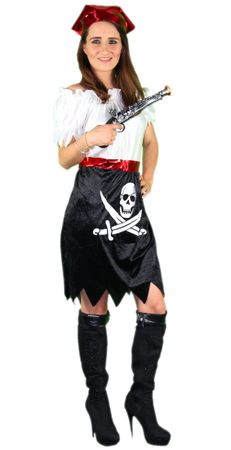 Piraten Kostüm für Damen S-XL