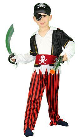 Piraten Kostüm für Kinder Gr. 86 - 140