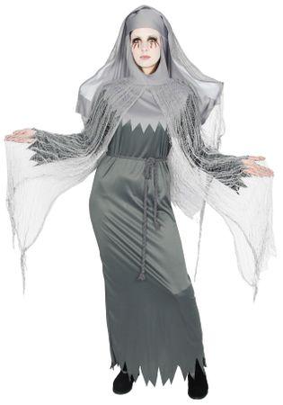 besessene Nonne Zombie Kostüm für Damen Gr. S-XXXL