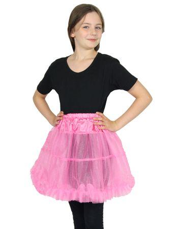 Deluxe Petticoat pink 50er Jahre Tütü Kostüm