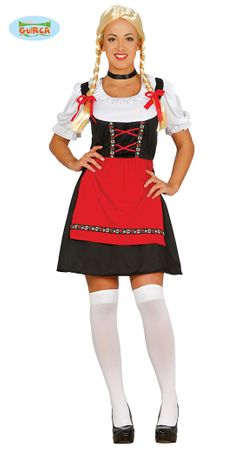 Bayrische Schönheit Dirndl Damen Kostüm Gr. M-L