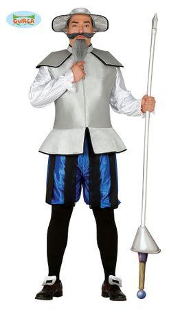 Chinesischer Ritter Kostüm für Herren Gr. M/L
