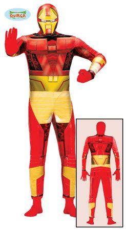 Bionischer Superheld Kostüm für Herren Gr. M/L