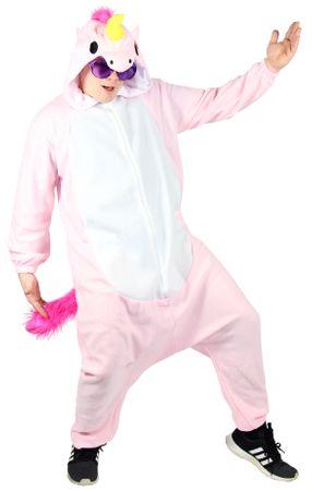 Pinkes Einhorn Kostüm für Erwachsene