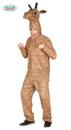 Giraffenkostüm für Damen und Herren Giraffe Tierkostüm Afrika Zoo