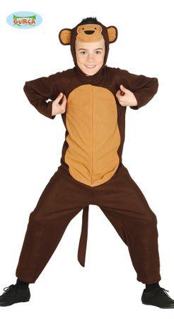 Affenkostüm Gorilla für Kinder Gr. 110-146