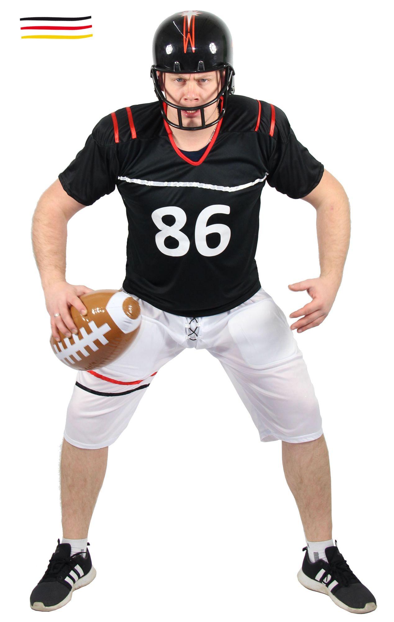 Football Spieler Kostüm