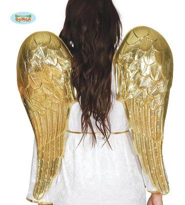 Engel goldene Flügel für Damen 80 cm