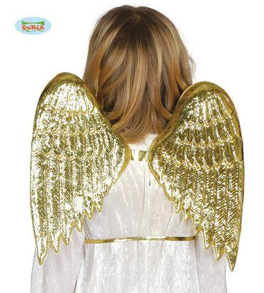 Engel goldene Flügel für Kinder 35 cm