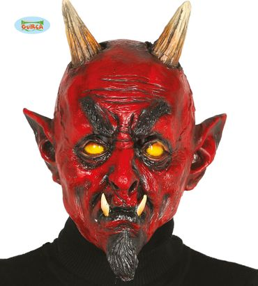 Monster Dämon Maske Latex für Erwachsene