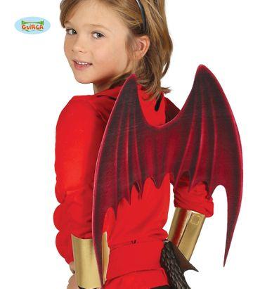 Fledermaus Teufel Flügel für Kinder Halloween Zubehör