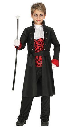 edles Kinder Vampir Kostüm Gr. 98-146