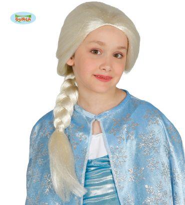 blond geflochtene Prinzessin Perücke für Mädchen