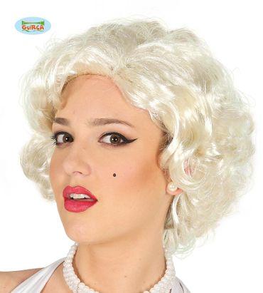 blonde Perücke Kurzhaar sexy für Damen