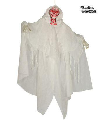 Geister Zombie  mit Licht blutig zum Aufhängen Mann ca. 170 cm