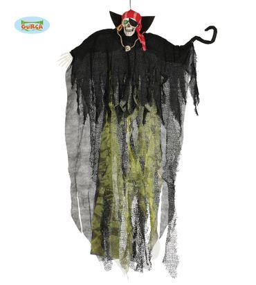 großer Totenkopf Pirat zum Aufhängen 150cm