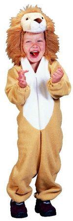 Kostüm Löwe Löwenkostüm Tierkostüm für Kinder Gr. 98-134