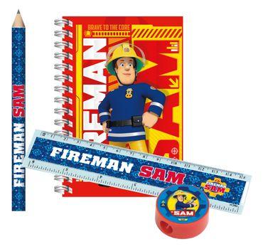 Schreibset Feuerwehrmann Sam Kinder-Geburtstag Mitgebsel