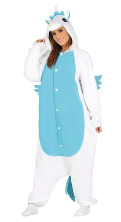 Einhorn Pyjama Kostüm für Damen