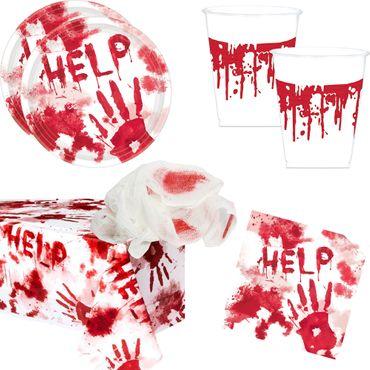 Bloody Good Time Halloween Party Set für 20 Personen