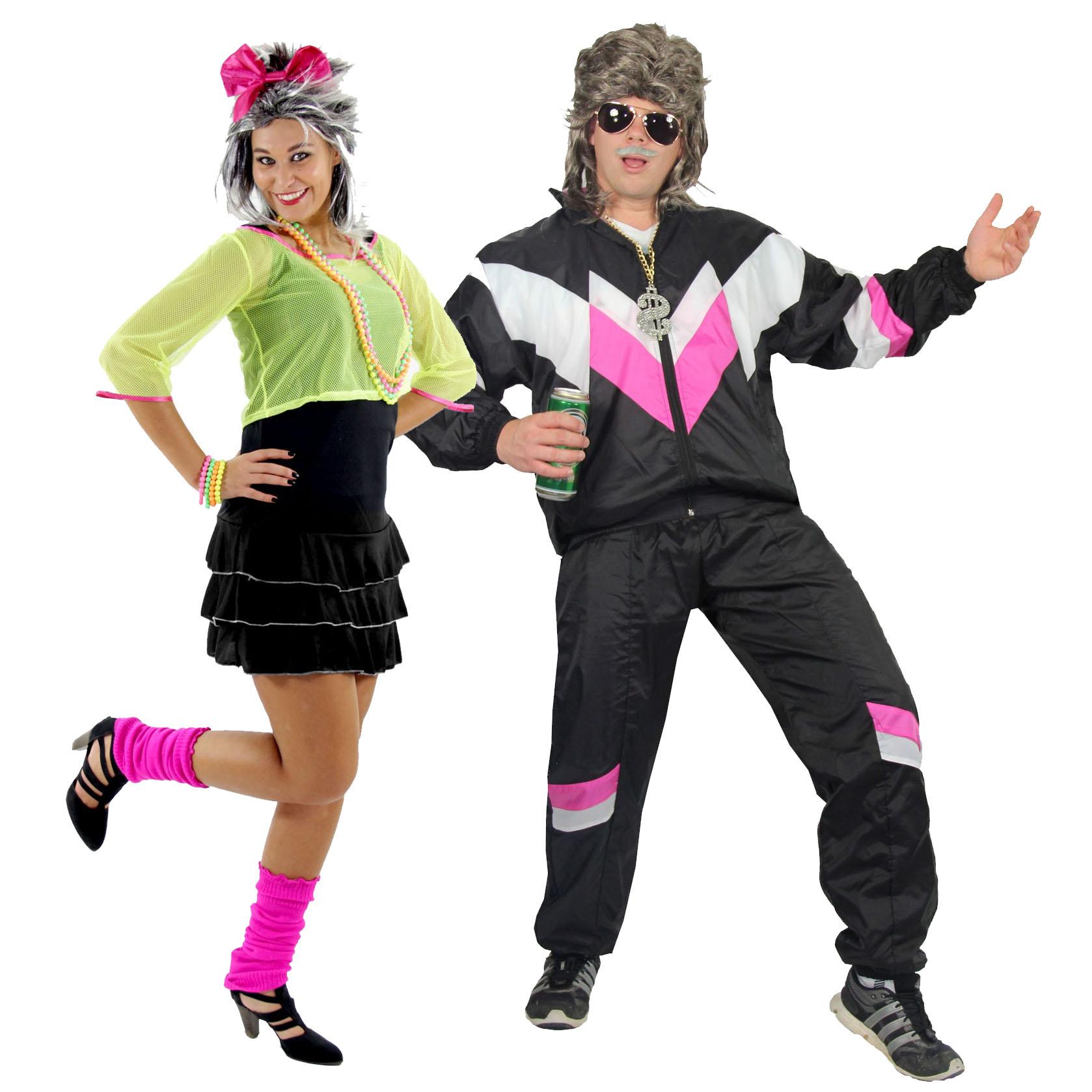 80er Jahre Party Pärchen Kostüm Online Shop Kostüme Perücken