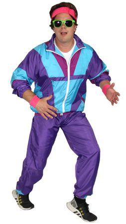 80er Jahre Kostüm für Herren