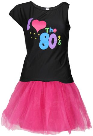 80er Jahre Damen Kostüm Set