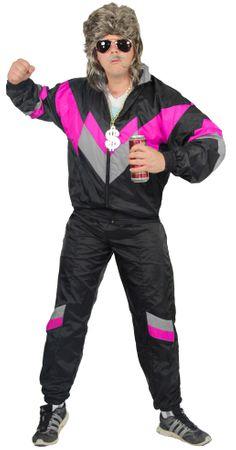 80er Jahre Trainingsanzug Kostüm für Herren