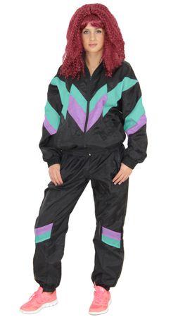 80er Jahre Premium Trainingsanzug für Damen