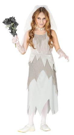 Geister Braut Kostüm für Mädchen