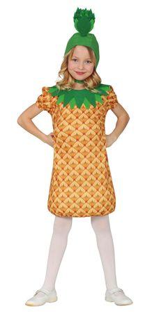 Ananas Kostüm für Mädchen