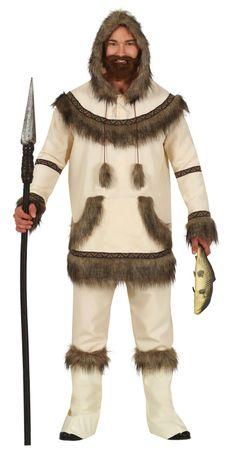 Eskimo Kostüm für Herren