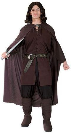 Original Lizenz Aragornkostüm Kostüm Aragorn Herr der Ringe Lord of the Rings die 2 Türme Gr. M