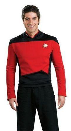 Deluxe Star Trek The next Generation Kostüm rot