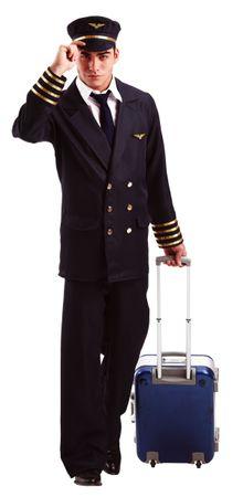 Pilotenkostüm Gr. M - XXXL