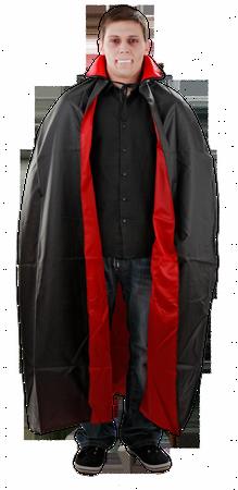 Vampirumhang Vampir Rot Schwarz für Erwachsene Gr. M - XXL