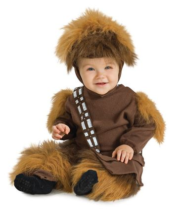 Star Wars Mini Chewbacca Kostüm braun
