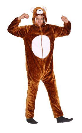 Foxxeo 13148 Deluxe Bären Kostüm