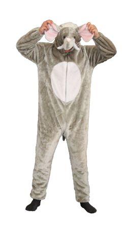 Foxxeo 13030 Deluxe Elefanten Kostüm