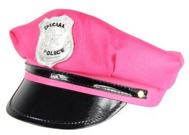 Polizei Hut pink Mütze JGA