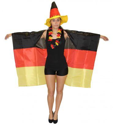 Poncho Deutschland WM EM Fan Fanartikel