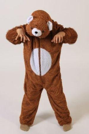Bärenkostüm für Kinder Gr. 110 - 128