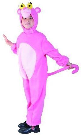 Panther Kostüm Pink für Kinder