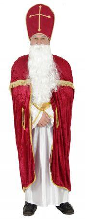 Bischofsrobe Robe Bischof Kirche Weihnachtsmann Kostüm Weihnachtsmann Kirche Gr. M - XXL