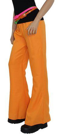 70er Jahre Schlaghose für Damen, orange