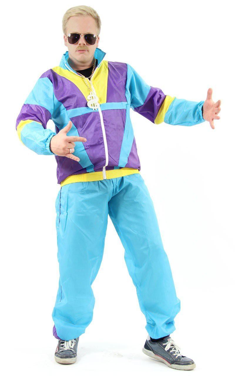80er Jahre Kostum Fur Herren Zu Fasching Und Karneval Trainingsanzug