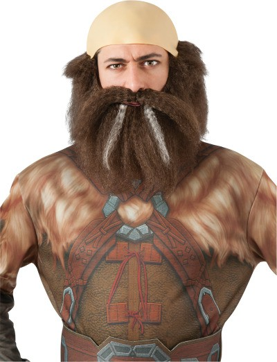 Dwalin Der Zwerg Perucke Aus Der Hobbit Fur Erwachsene Kostum